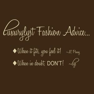 Fashion Consults Available!